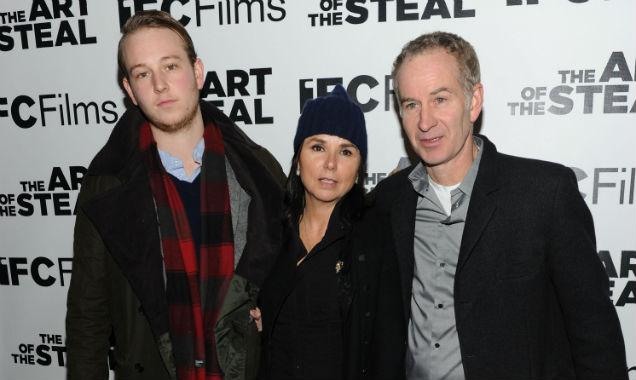 John Mcenroe and family