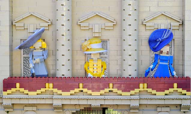 The Queen Lego Ascot