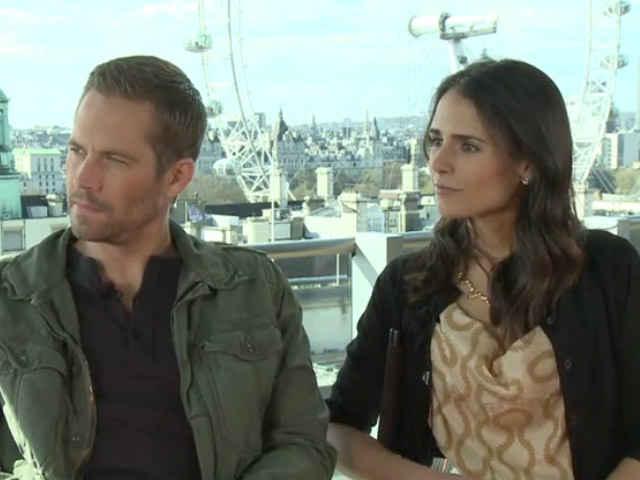 Paul Walker & Jordana Brewster - Fast & Furious 6 Video Interview