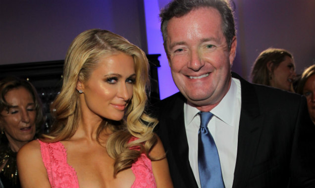 Piers Morgan Paris Hilton