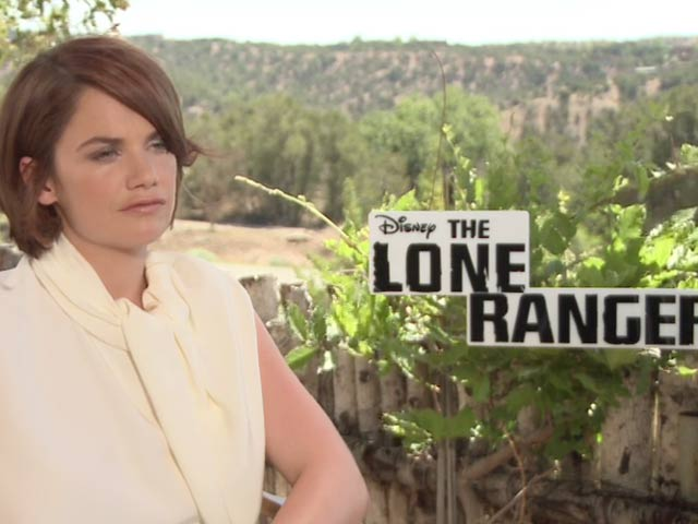 Ruth Wilson - The Lone Ranger Video Interview