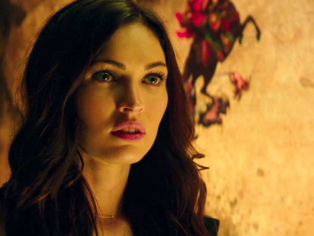 Megan Fox, TMNT Trailer