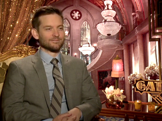 Tobey Maguire - The Great Gatsby Video Interview