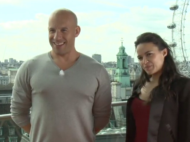 Vin Diesel & Michelle Rodriguez - Fast & Furious 6 Video Interview