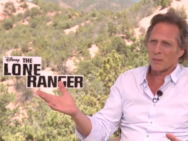 William Fichtner - The Lone Ranger Video Interview