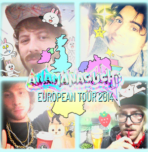 Anamanaguchi Announce Europe UK Plus Ireland 2014 Tour Dates