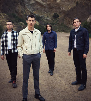 Arctic Monkeys Announce Visiting Birmingham Lg Arena Gig 31 October 2013