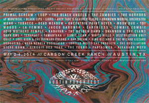 Austin Psych Fest Announces 2014 Lineup With Primal Scream Plus Many More