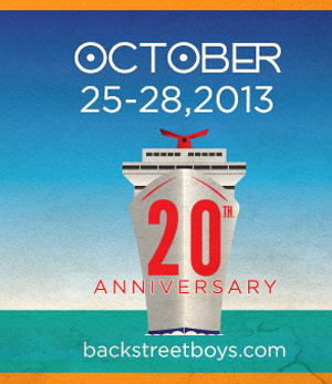 Backstreet Boys Announce Their 20th Anniversary Cruise