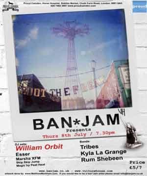 William Orbit Headlines Ban*jam Re-launch At Proud Camden