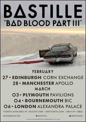 Bastille Announce February And March UK 2014 Tour