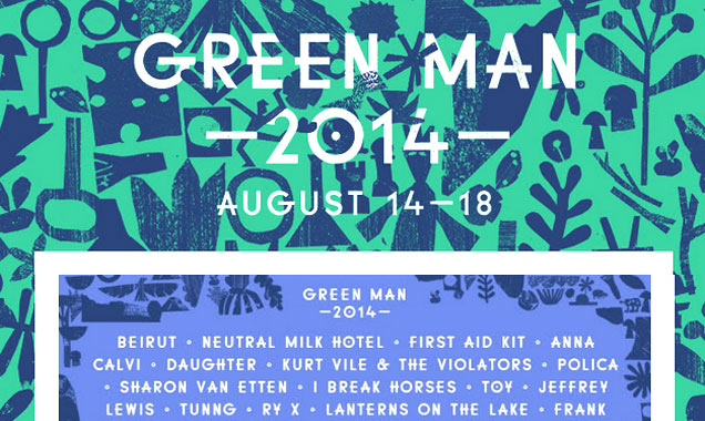 Just Announced Beirut, Neutral Milk Hotel, First Aid Kit And Lots More For Green Man 2014