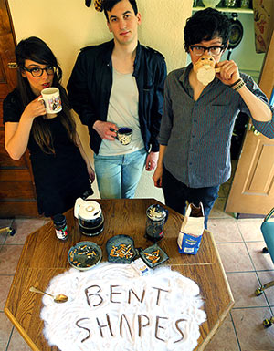 Bent Shapes Releases Fourth Single 'Hex Maneuvers' From Debut Album 'Feels Weird' Out August 20th 2013