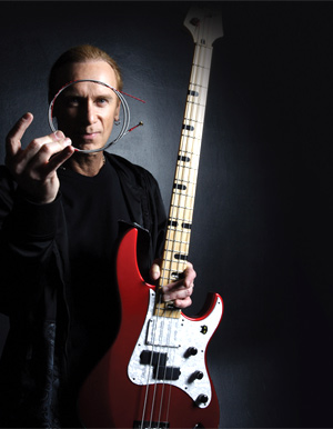 Billy Sheehan, Guthrie Govan And James Lomenzo Appear With Rotosound At Winter Namm 2014