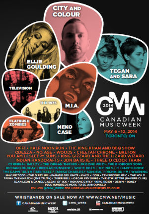 Cmw Announces Initial Festival Line-up With Performances By Mia, Ellie Goulding And More