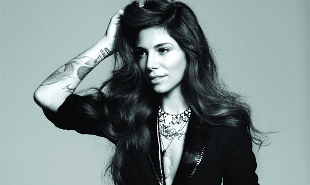 Christina Perri Releases Second Single 'Burning Gold' Released In The UK 9th June 2014
