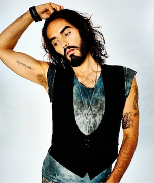 Comedian Russell Brand To Embark On His First Ever World Tour August, 2013