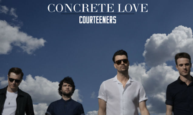 Courteeners Announce New Album 'Concrete Love' Released In The UK On August 18th 2014