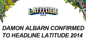Damon Albarn Confirmed To Headline Latitude 2014
