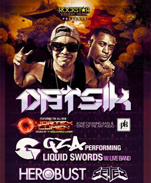 Datsik Announces Additional Dates For The 'Digital Assassins' 2014 Tour And Co-headlining Dates With Gza Of Wu-tang In January2014