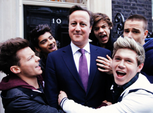 David Cameron Makes An Appearance In One Direction's New Video