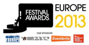 European Festival Awards Winners 2014 April 2014