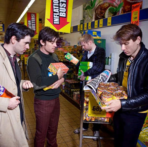 Franz Ferdinand Release Covers Ep 2nd Of May 2011
