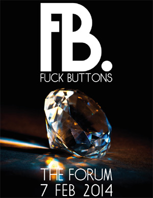 Fuck Buttons Announce New Live Date In London On 7th February 2014