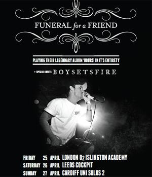 Funeral For A Friend Announce Spring 2014 UK Dates With Boysetsfire