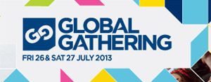 Globalgathering 2013  - Day Line-ups Announced
