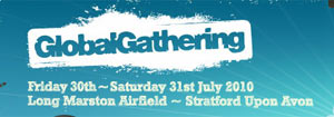 Saturday Vip Tickets Available For Global Gathering Festival 2010