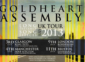 Goldheart Assembly Announce July 2013 UK Tour Dates