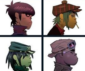 Gorillaz First World Tour