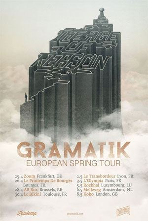 Gramatik Heads To Europe For 2014 Spring Tour