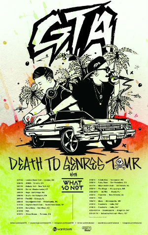 Gta Announce 'Death To Genres' North American Tour 2014
