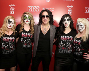 Hard Rock Cafe Launches Kiss Signature Series 2014