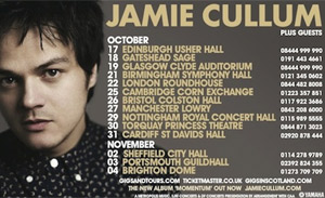 Jamie Cullum Announces Autumn 2013 UK Momentum Tour