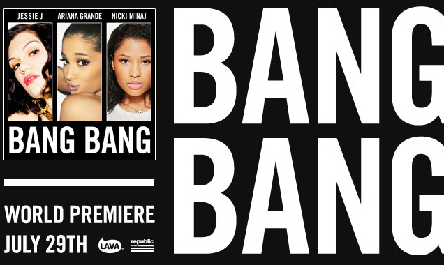 Jessie J, Ariana Grande And Nicki Minaj Announce New Track 'Bang Bang'