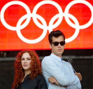 Katy B And Mark Ronson Coca-cola 'Move To The Beat' London 2012 Olympic Games