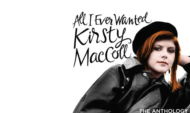 Kirsty Maccoll Announces 'All I Ever Wanted - The Anthology' 2 Cd Album Released In The UK On The  7th April 2014