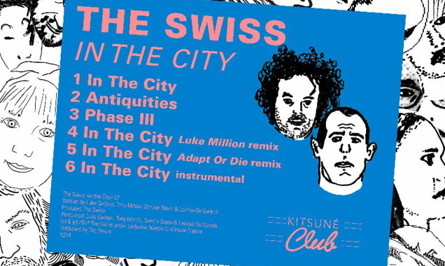 The Swiss Announces New Ep 'In The City' Out In The UK On April 21st 2014