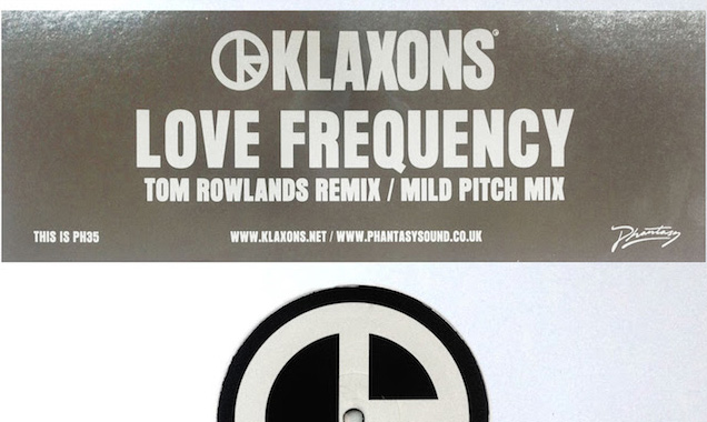 Klaxons Stream 'Love Frequency' (Tom Rowlands Remix) [Listen]