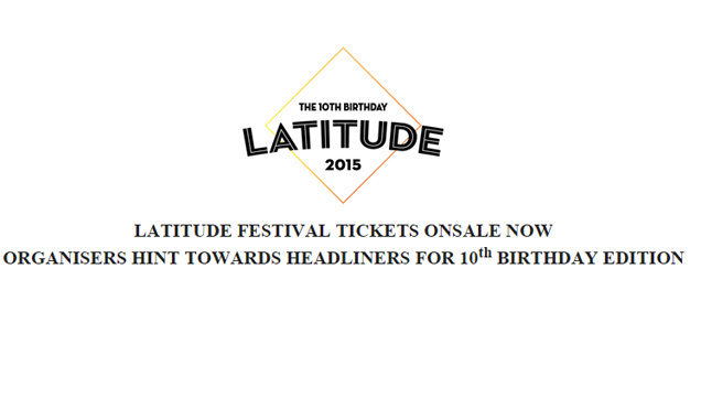 Latitude 2015 Dates Announced And Tickets Now On Sale
