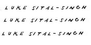 Luke Sital-singh November 2013 UK Tour