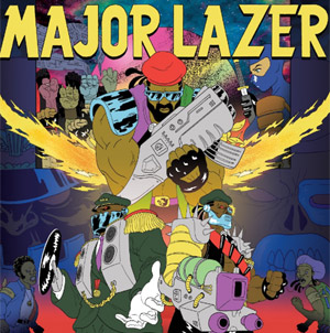 Major Lazer Announces New Album 'Free The Universe' To Be Released 15th April 2013
