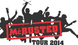 Supergroup Mcbusted Announce April 2014 UK Tour