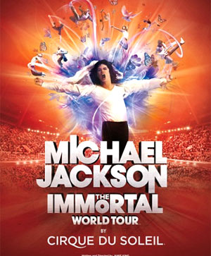 Michael Jackson The Immortal World Tour Set To Come To The Nia