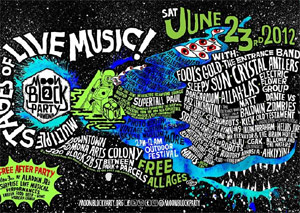 Fool's Gold Moon Block Party 2012 Announces Full Line-up For Free Music Festival