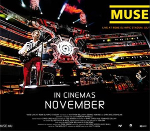 Muse 'Live At Rome Olympic Stadium' In Cinemas November 2013