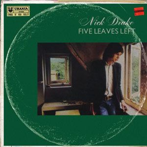 Nick Drake Announces Debut 'Five Leaves Left' In New Vinyl Box Set